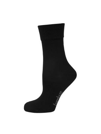 Nur Die Bambus Komfort Socken schwarz