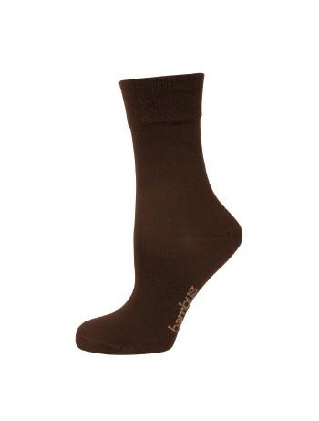 Nur Die Bambus Komfort Socken braun