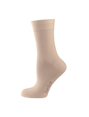 Nur Die Bambus Komfort Socken leinen