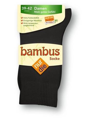 Nur Die Bambus Damensocke, im Nylon und Strumpfhosen Shop