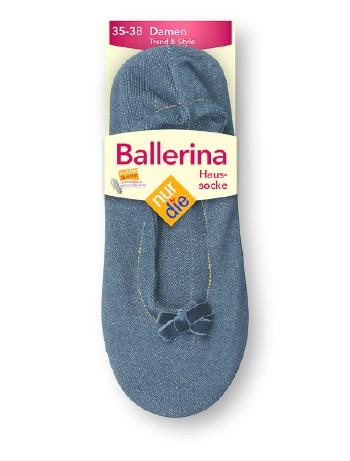 Nur Die Ballerina Haussocke, im Nylon und Strumpfhosen Shop