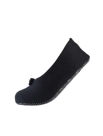 Nur Die Ballerina Haussocke schwarz