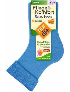 Nur Die Pflege & Komfort Relax Socken