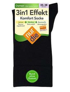 Nur Die 3in1 Effekt Socken