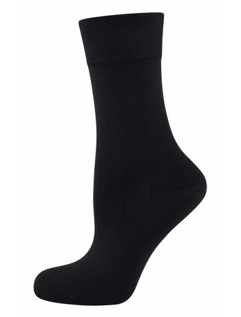 Nur Die Pflegende Komfort Socke schwarz
