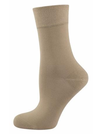 Nur Die Pflegende Komfort Socke leinen