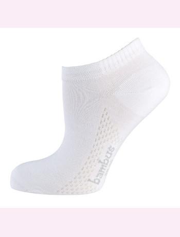 Nur Die Air Comfort Sneaker Socke weiss