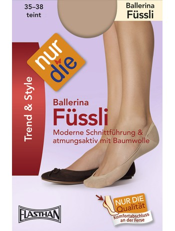 Nur Die Ballerina Fuessli Baumwolle, im Nylon und Strumpfhosen Shop