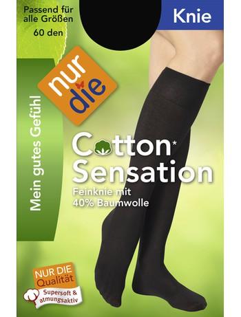 Nur Die Knie Cotton Sensation, im Nylon und Strumpfhosen Shop