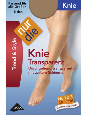 Nur Die Knie Transparent Kniestruempfe