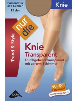 Nur Die Knie Transparent Kniestrümpfe
