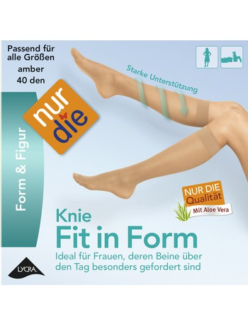 Fit in Form Stützkniestrumpf
