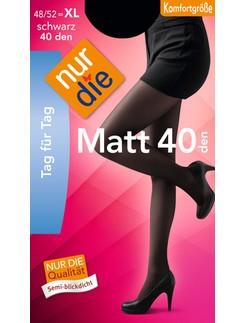 Nur Die Matt 40 semiblickdichte Strumpfhose XL