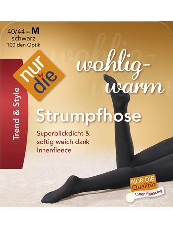 Nur Die Wohlig-Warm Strumpfhose