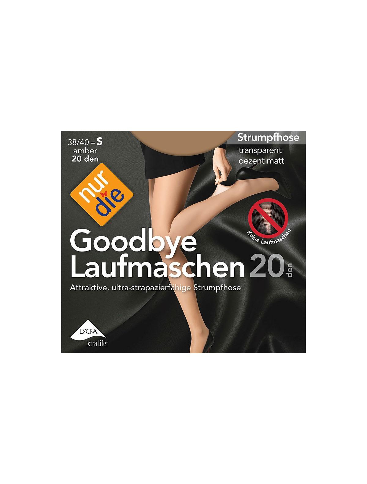 nur die goodbye laufmaschen 20 strumpfhose 20den. Black Bedroom Furniture Sets. Home Design Ideas