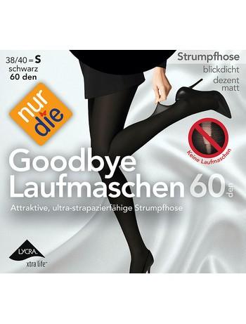 Nur Die Goodbye Laufmasche 60 Strumpfhose schwarz
