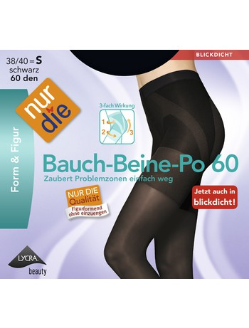 Nur Die Bauch Beine Po 60 blickdichte Strumpfhose, im Nylon und Strumpfhosen Shop