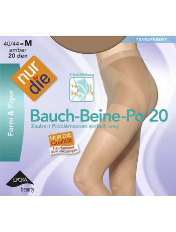Nur Die Bauch-Beine-Po figurformende Feinstrumpfhose, im Nylon und Strumpfhosen Shop