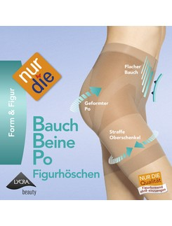 NurDie Bauch-Beine-Po Figurhöschen