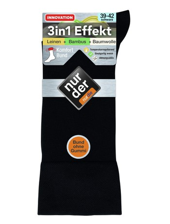 Nur Der 3in1 Effekt Socken fuer Herren