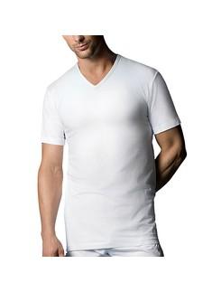 Nur Der T-Shirt V-Ausschnitt Doppelpack 100% Cotton