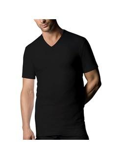 Nur Der Herren T-Shirt V-Ausschnitt Doppelpack 100% Cotton