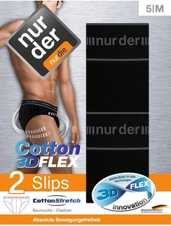 Nur Der Cotton 3D-Flex 2er-Pack