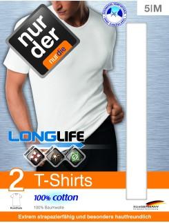 Nur der T-Shirt Longlife Doppelpack