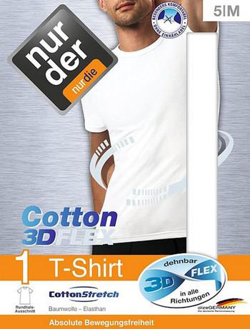 Nur Der T-Shirt 3D-Flex Rundhals, im Nylon und Strumpfhosen Shop