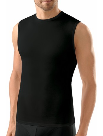 Nur Der Tank Top Cotton Stretch schwarz