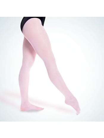 Rumpf Balett Elastic Tanzstrumpfhose rose