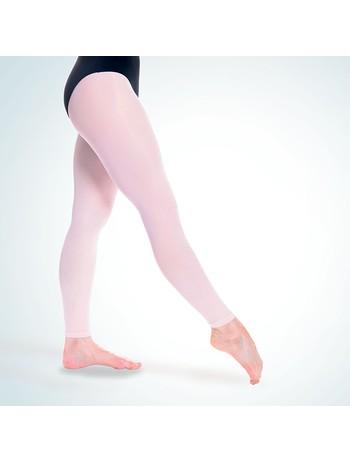 Rumpf Tanzstrumpfhose Balett Elastic fusslos