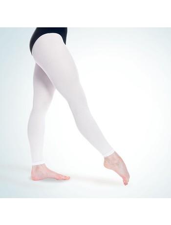 Rumpf Tanzstrumpfhose Balett weiss