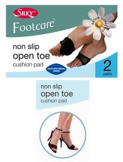 Silky Foot Care rutschfeste, offene Zehenkissen