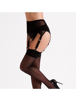 Silky Six Strap suspender belt